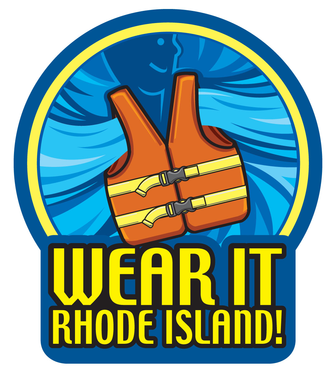 Wear It Rhode Island PFD Logo